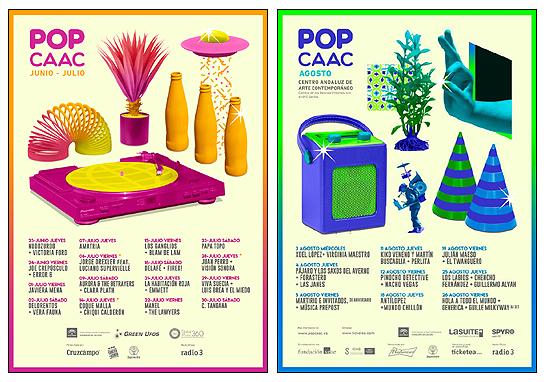 Carteles POP CAAC 2016