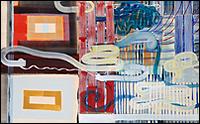 JUAN USLÉ. Ojos desatados, 1994-1995. 152,8 x 244,5 cm. CAAC Collection