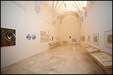 View of the exhibition 'Cities, like people, can be recognized by their walk' at CAAC. Photo: Guillermo Mendo