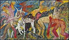 MIQUEL BARCELÓ. Mapa de carn. 1982. Colección de Arte Contemporáneo Fundación 'la Caixa'