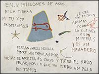 FERRÁN GARCÍA SEVILLA. Tata 13. 1985. (Colección Museo Nacional Centro de Arte Reina Sofía. Madrid)