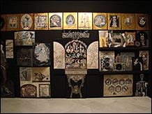 Vista de sala de la exposición Mariajosé Gallardo. No sine sole iris