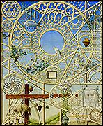 GUILLERMO PÉREZ VILLALTA.  Vísperas de Pascuas, 2000. Temple vinílico sobre lienzo. 248 x 201 cm