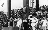 MARYAM JAFRI. Independence Day 1936 - 1967. Saludando a la nueva bandera, 12 de diciembre 1963. Kenia