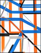 JOSÉ PIÑAR. Remasterings 1990 - 2012. Técnica: Acrílico sobre tela, 230 x 180 cm