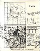 EVA LOOTZ. Sin título, dibujo a tinta negra sobre papel. Publicado en la revista Separata nº 4, primavera 1980