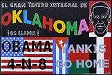 MANOLO QUEJIDO. Por aquí pasa 3 (El Gran Teatro), 2008. Acrylic on canvas, 130 x 195 cms. Courtesy of the artist