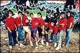 MIGUEL TRILLO: La banda SSB en su barrio de Carabanchel. Madrid, 1989