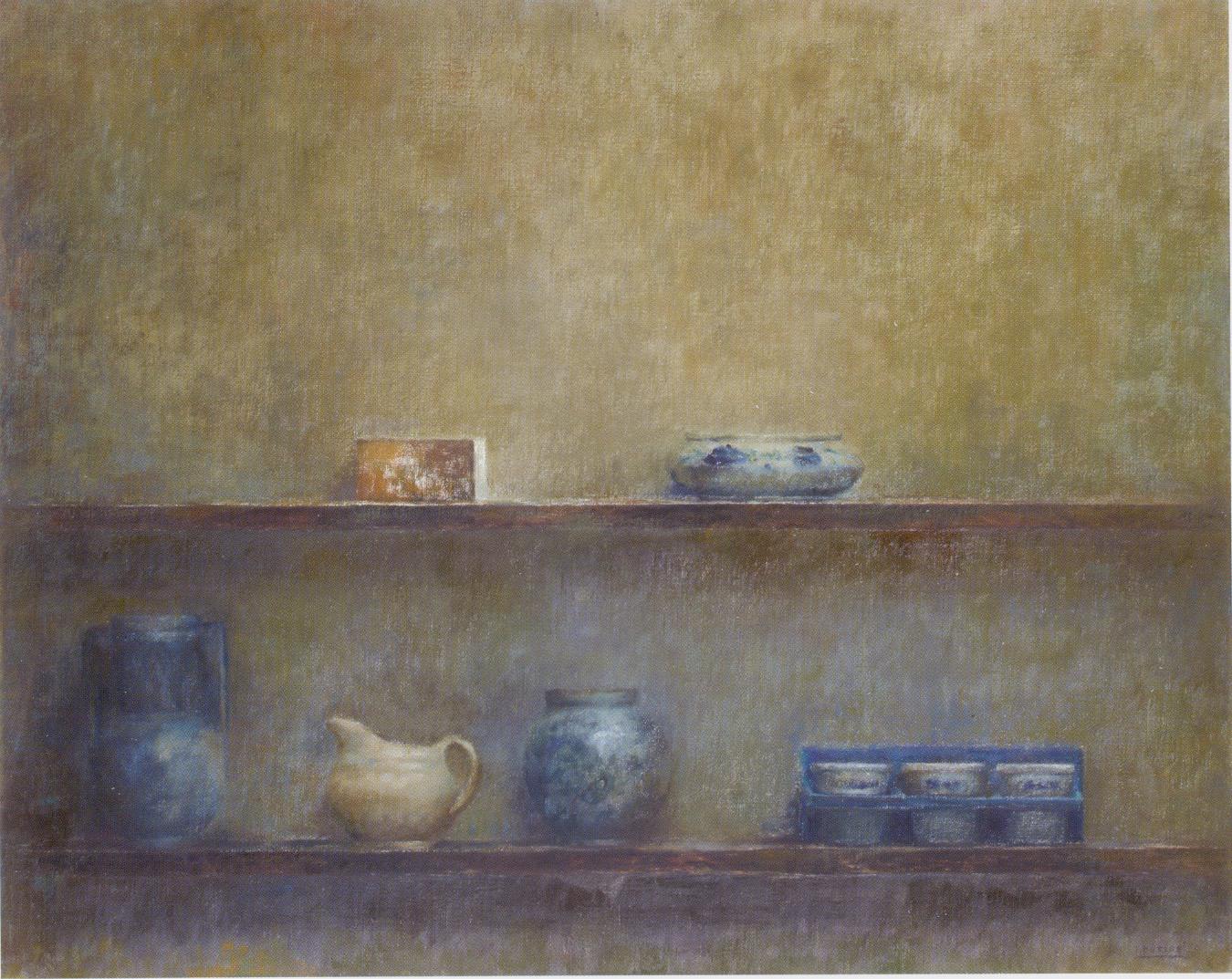 Teresa Duclós. La laguna. En el estudio, 2008